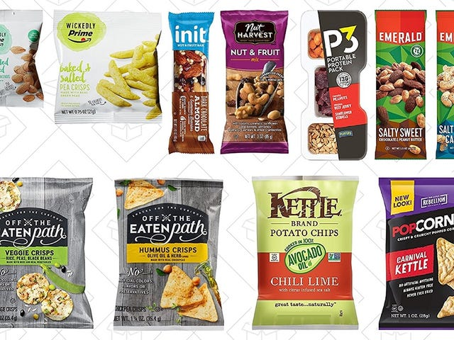 Amazon's Snack Sample Box Is Back In Stock, Complete With a $10 Snack Credit