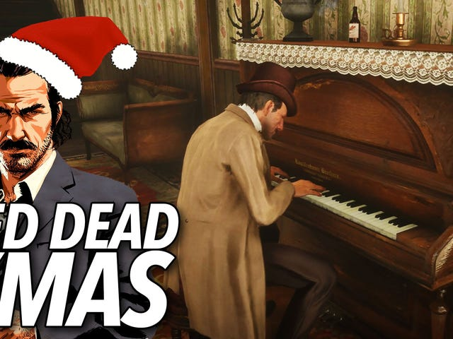 <i>Red Dead Online</i> är i Holiday Spirit