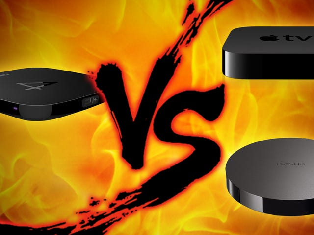 Set-Top Box Showdown: Apple TV εναντίον του Nexus Player vs. Roku 4