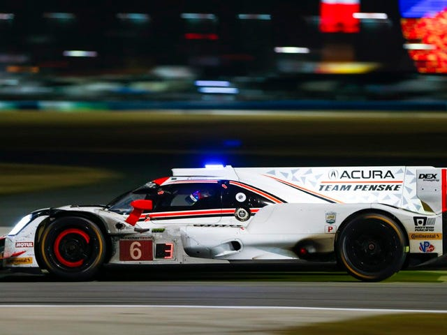 And there's half-post at the Rolex 24