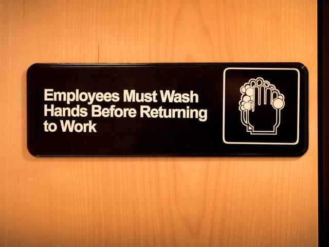 在MRSA和Superfungi的世界中,你需要开始正确地洗手