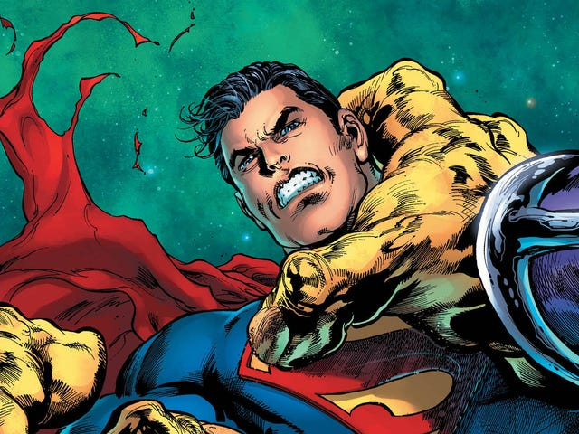 Mongul shatters the United Planets in this Superman #20 exclusive
