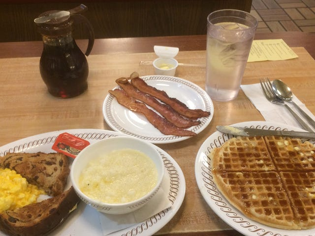 Waffle House at 3:15 AM