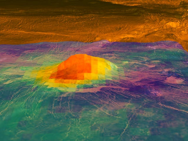 Venus Could Have Active Volcanoes