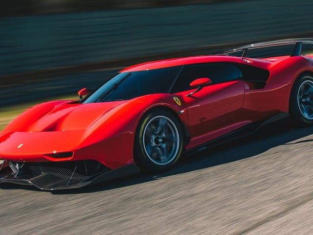 Chiếc Ferrari mới trông có vẻ không giống với một chiếc xe giả từ GTA V