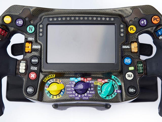 Here's Why F1 Drivers Don't Hit the Wrong Buttons on Their Complicated Steering Wheels