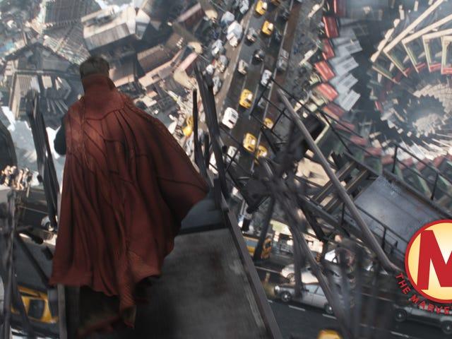 Com o Doctor Strange, a Marvel finalmente serviu alguns doces espetaculares