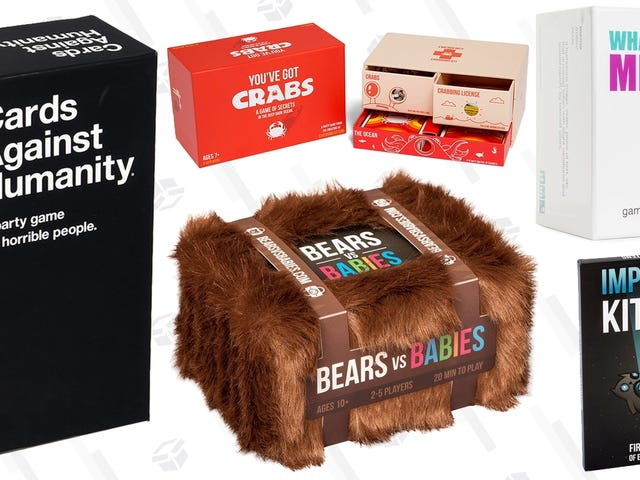 This Isn't a Prank: Cards Against Humanity Is On Sale for Prime Day, Along With Other Adult Party Games