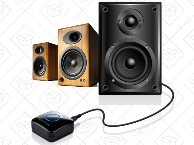 Add Bluetooth and NFC Pairing to Any Speaker System For $16