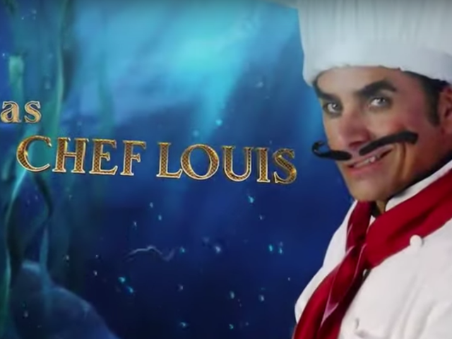 John Stamos IS Chef Louis in new teaser for ABC's The Little Mermaid Live