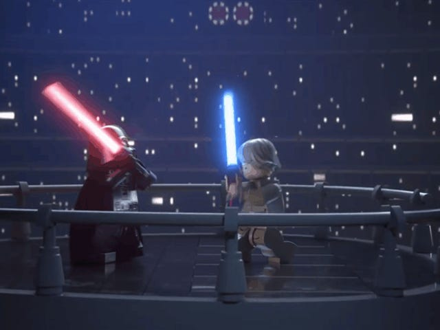 <i>Lego Star Wars: The Skywalker Saga</i> ने एक गेम में नौ फिल्में <i>Lego Star Wars: The Skywalker Saga</i>
