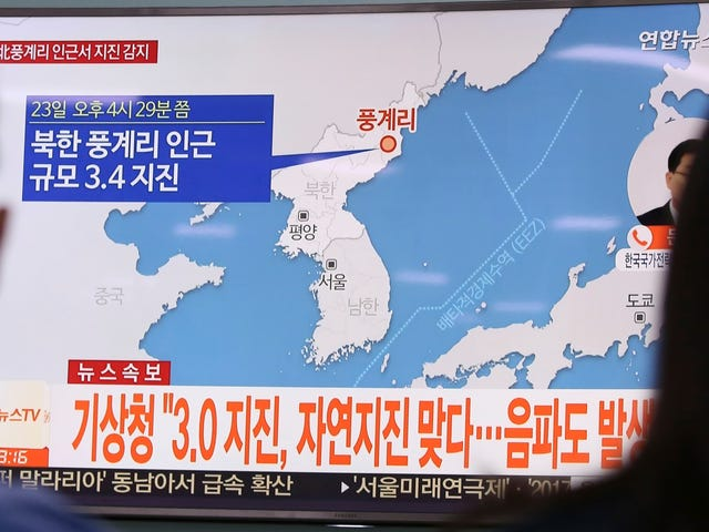 Reports: Latest North Korean Earthquake Was Likely Not Nuclear Test