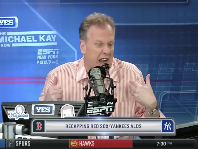Michael Kay Says Yankees Lost To Red Sox Because Math Can't Account For The Soul Of A Baseball Or Whatever