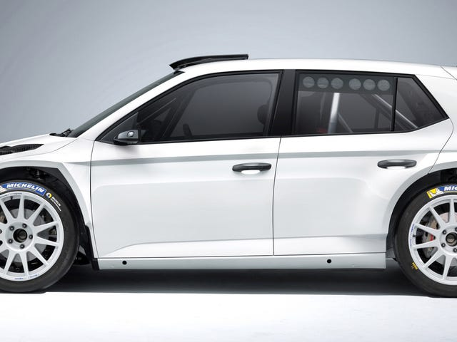 [The FIA gave the Fabia R 5 the green light, meaning that Skoda's latest rally car is fully homologa