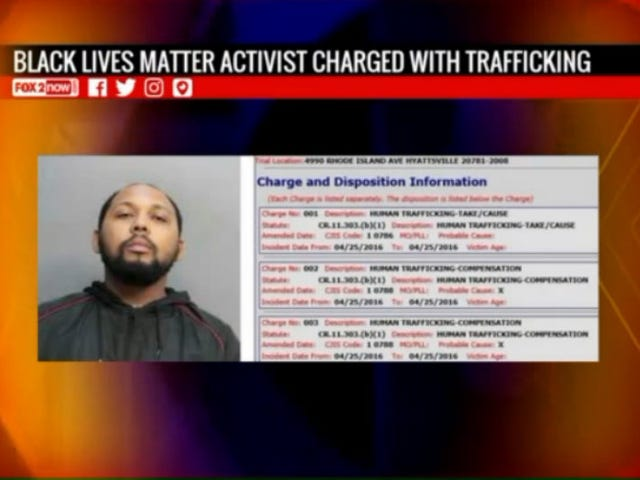 Black Lives Matter Activist Accused of Trafficking 17-Year-Old Girl