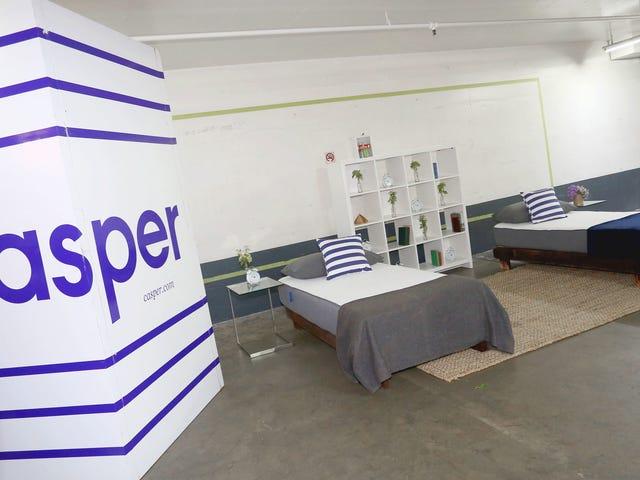 Στρώμα εκκίνησης Casper Sued ένα site στρώμα αναθεώρηση, τότε καταβάλλονται για την απόκτηση του