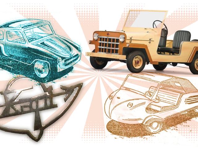 Une des compagnies de voitures les plus étranges que vous n'avez jamais entendues a été un pionnier de Knockoffs