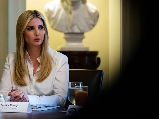 Du är avskedad!  Ivanka Trump stänger hennes modelinje