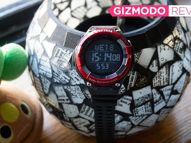이 Casio Smartwatch는 착용 OS의 투쟁을 완벽하게 보여줍니다