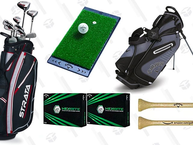 Amazon's Teed Up This Callaway Golf Gear Sale For Today Only