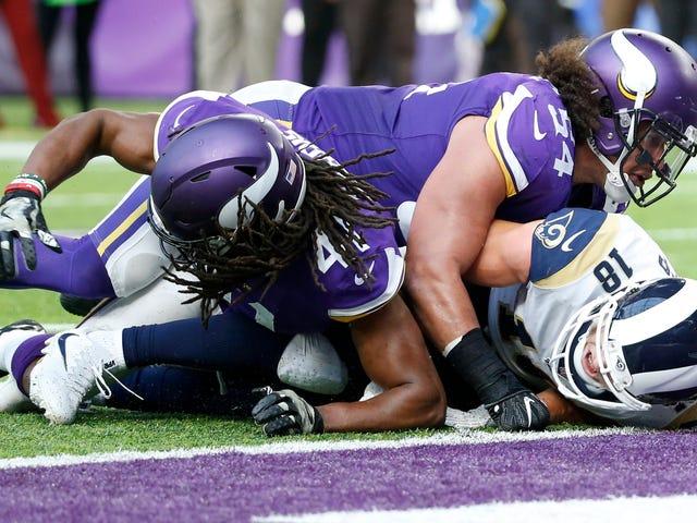 The Vikings Locked Down The Rams
