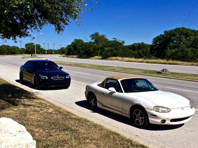 Why Car Enthusiasts Should Swap Each Other's Cars More Often