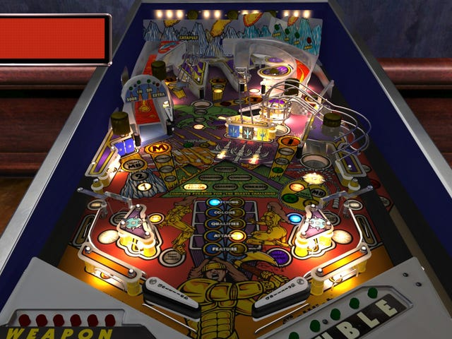 Down The Drain - Pinball Arcade's Tables Through The Ages: The 90's (Gottlieb)