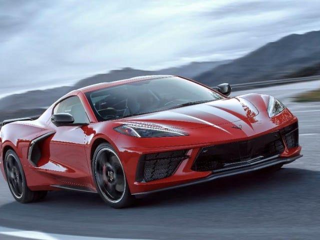 2020 C8 Corvette 60,000 Doların Altında Başlayacak
