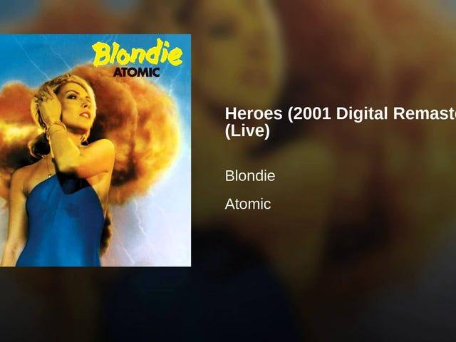 Blondie - Heroes (David Bowie)(Live)