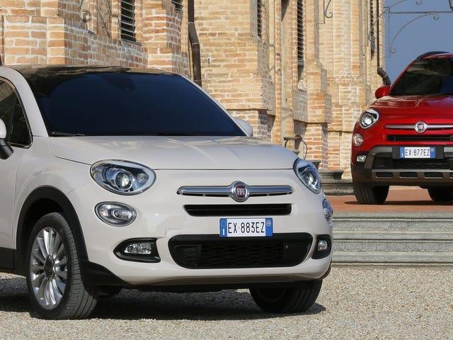 Вы заплатите больше за 2016 Fiat 500X, чем джип Renegade