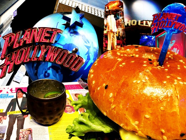 Nikt nie przychodziłby ze mną na planetę Hollywood, ale nie byłbym zniechęcony