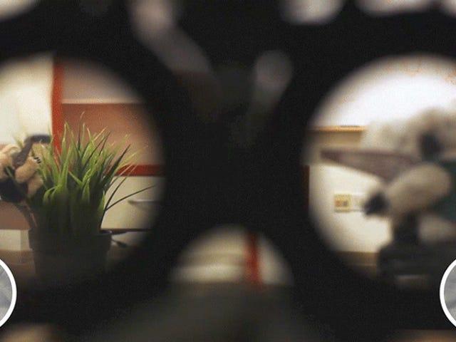Cermin Eye-Tracking Stanford Secara Automatik Fokus Pada Apa sahaja yang Anda Hadapi