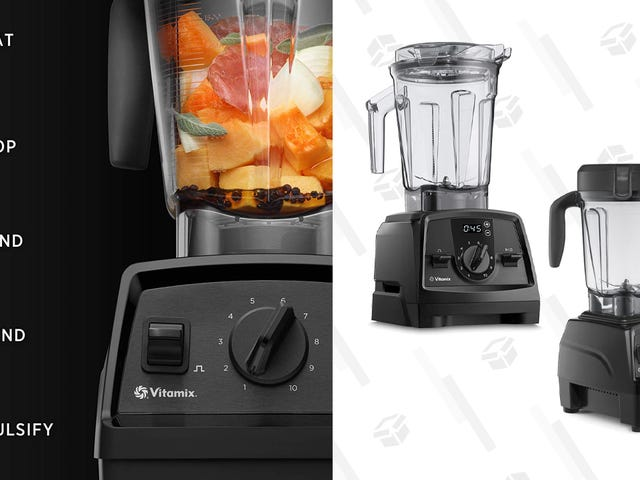 Pick Up a Powerful Vitamix Blender Starting at Just $180 for Prime Day