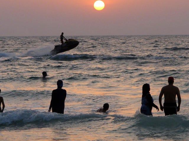 Ozeanbakterien besiedeln Ihre Haut nach nur 10 Minuten Schwimmen
