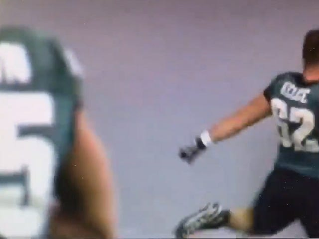Jason Kelce Absolutely Wrecked This Recycling Bin