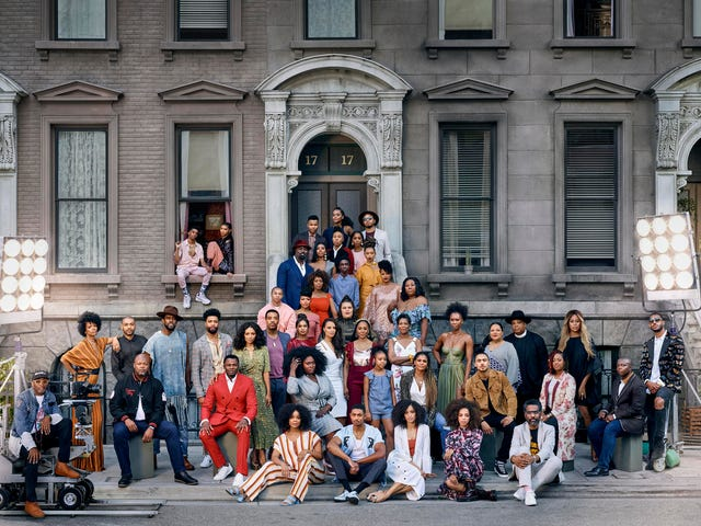 Netflix's Black Talent Re-Creates Iconic A Great Day in Harlem Photo