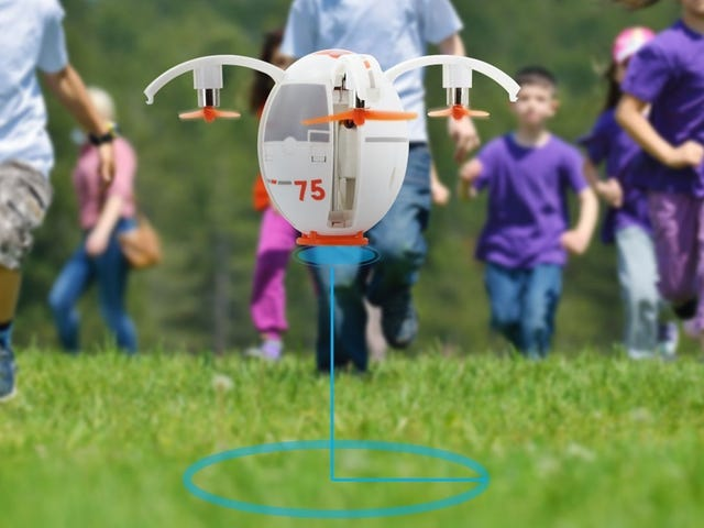 Make Your Easter Egg Hunts a Little More Challenging With This $18 Drone