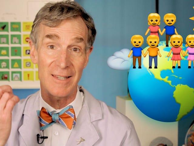 Bill Nye erklärt den Klimawandel in einer Sprache, die jeder kennt: Emoji