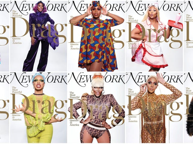 With 37 Covers, New York Magazine Celebrates the Timeless, Transformative World of Drag