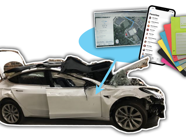 Wrecked Teslas Are Full of Sensitive Data and So Are Most Modern Cars
