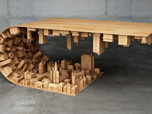 Praktisk 3-D-udskrivning ligner en skør kaffebord på $ 4.500