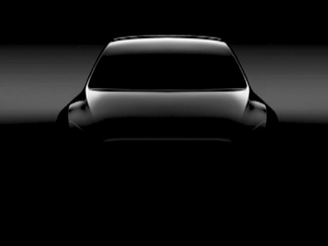Tesla Dropped A First Look Of The Model Y And It Doesn't Have Any Dang Mirrors