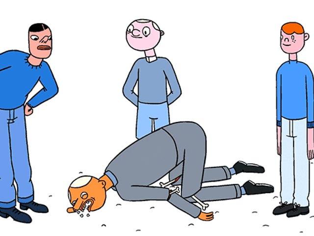 Animasi NSFW Lucu Menunjukkan Cara yang Tidak Benar Tubuh Kita Bisa Salah