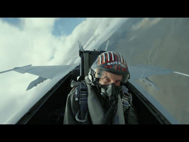 Εμετός και λιποθυμία: οι σκηνές που φέρουν το Top Gun: Maverick καταγράφηκαν σε πραγματικούς μαχητές με μεγάλη ταχύτητα