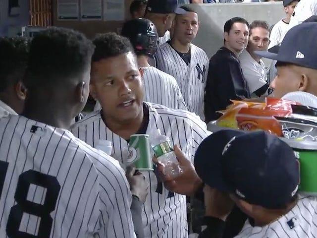 Yankeesne gør en sjov ting efter homers