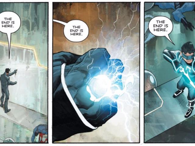 <em>The Omega Men</em> appena tirato fuori uno dei finali più oscuri nei fumetti di supereroi di sempre