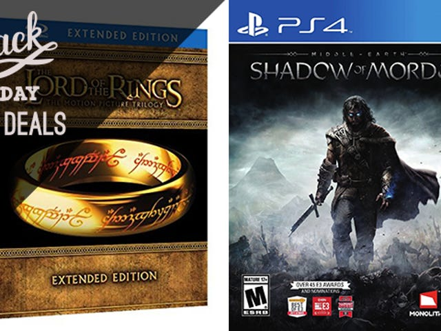 One Lord of the Rings Shadow of Mordor Bundle to Rule Them All