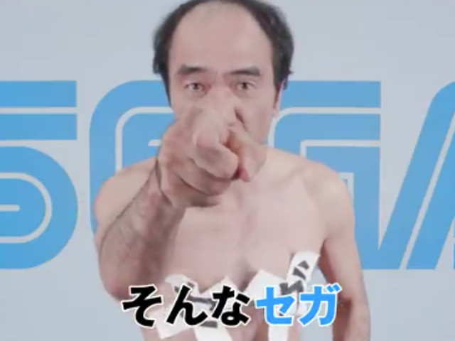 In what must be the oddest Japanese corporate announcement ever, comedian Egashira 2:50 reveals that