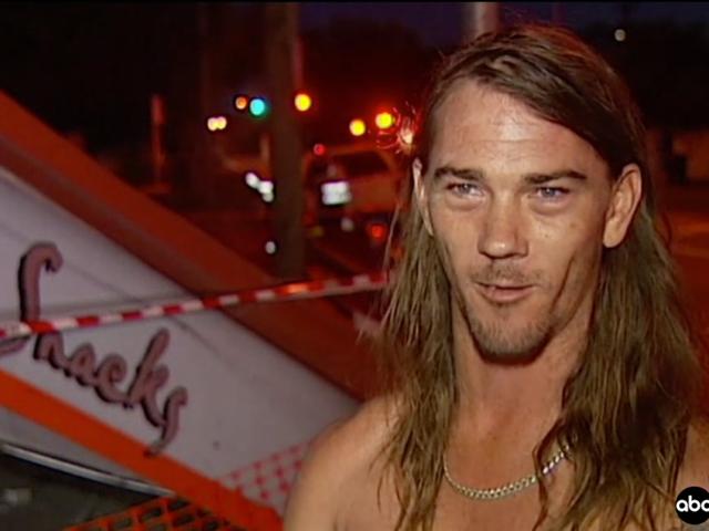 男子帮助澳大利亚警方在他的内衣追逐失控的司机