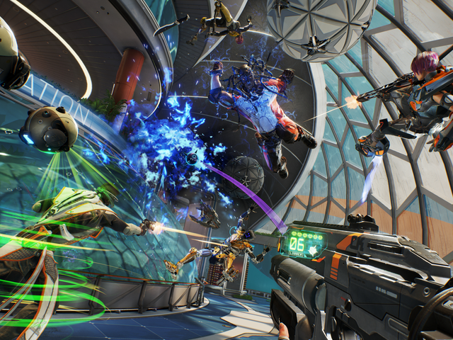 Lawbreakers fills the gap left by classic arena shooters